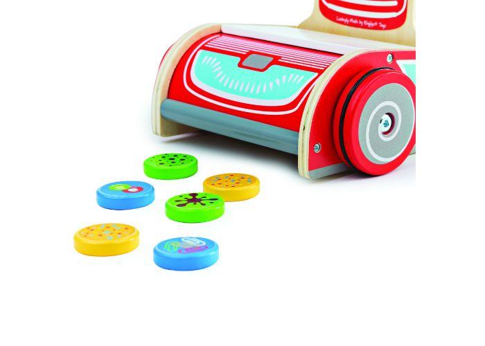 Bigjigs Toys Wooden Upright Vacuum