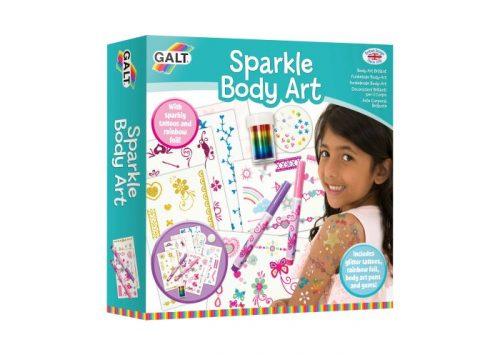 GALT Sparkle Body Art Activity Set