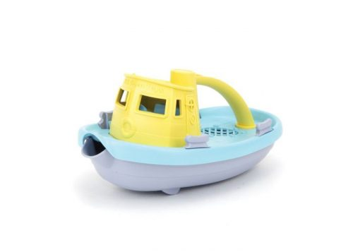 Green Toys Tugboat (teal deck) Eco-Friendly Toy