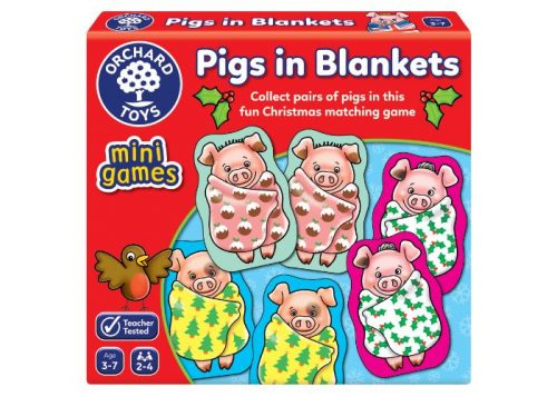 Orchard Toys Mini Games Pigs in Blankets