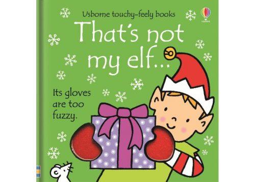 Usborne That's Not My Elf Board Book